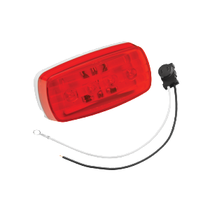 "#58 Series LED Clearance/Side Marker Light ""Bargman"" 7-58-031 Red w pigtail"