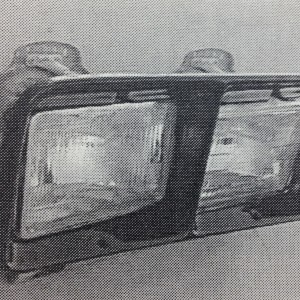 MONACO 387 HEADLIGHT BEZEL